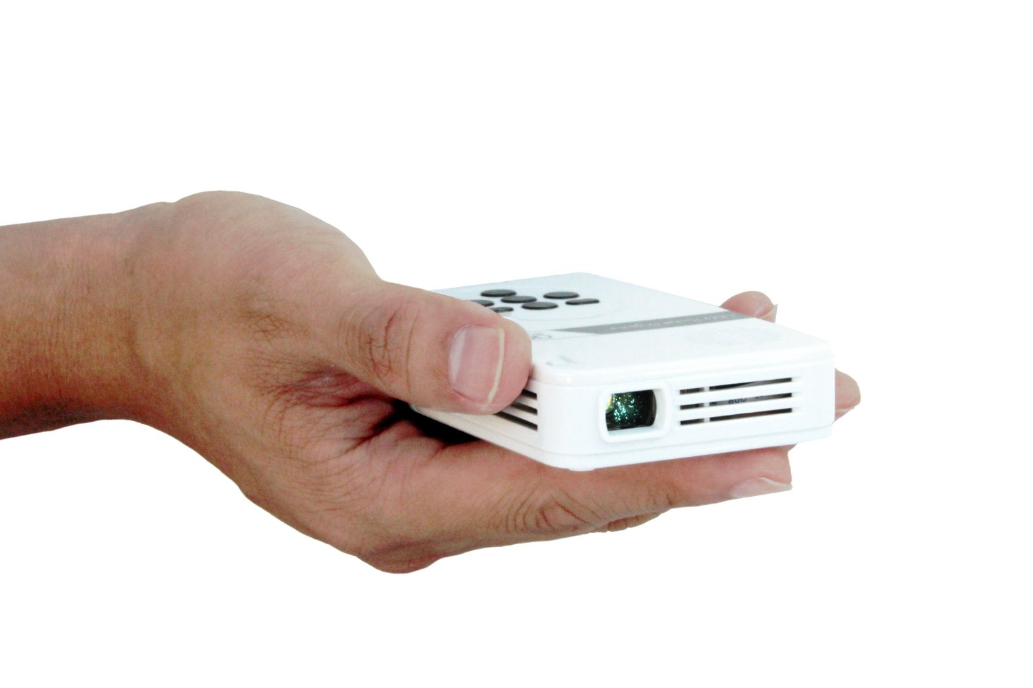 It perfect aaxa kp 101 01 led pico projector with 80 for Pico projector best buy